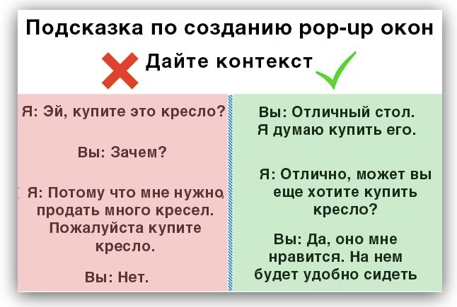 подсказка по созданию pop up окна